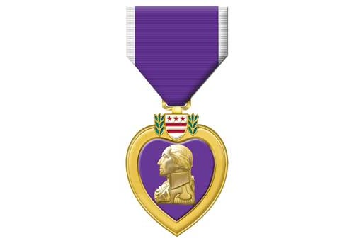 The Purple Heart is a United States military decoration awarded in the name of the President to those who have been wounded or killed while serving on or after April 5, 1917 with the U.S. military.