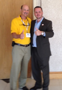 Enjoyed spending time with my buddy Marvin, the Coffee County 911 coordinator.