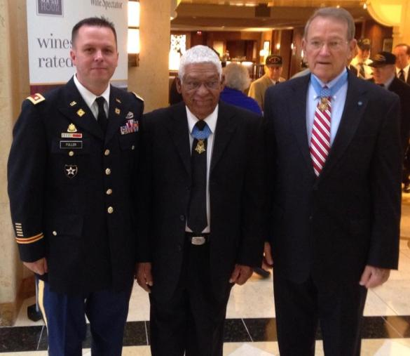 MSG Melvin Morris and COL Roger Donlon